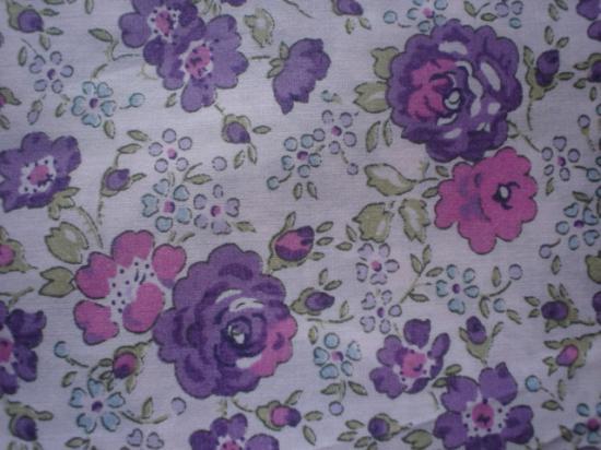 Tissu Liberty Felicite violet et rose