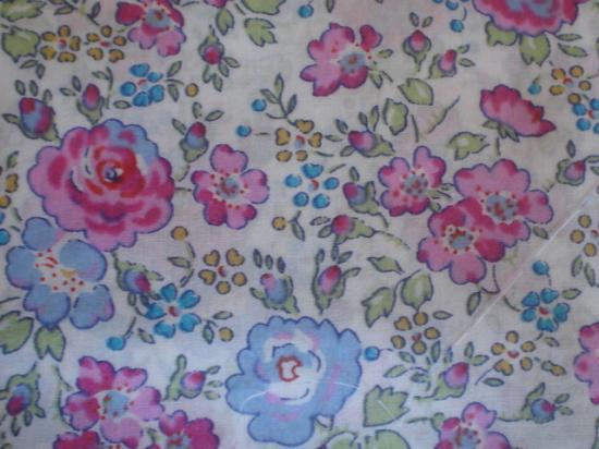 Tissu Liberty Felicite rose et bleu