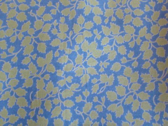 Tissu Liberty Glendjade bleu et vert