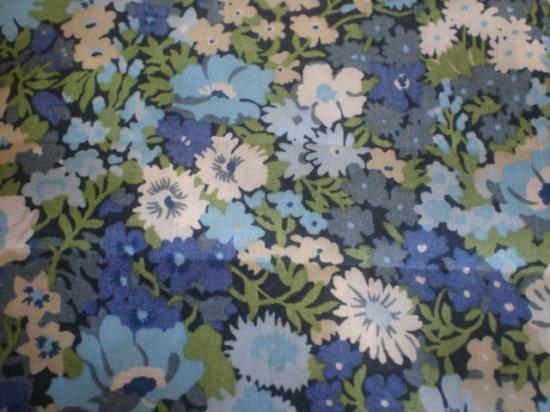 Tissu Liberty Thorpe bleu