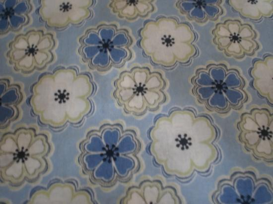 Tissu Liberty Toria bleu