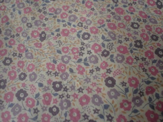 Tissu Fairford rose et mauve