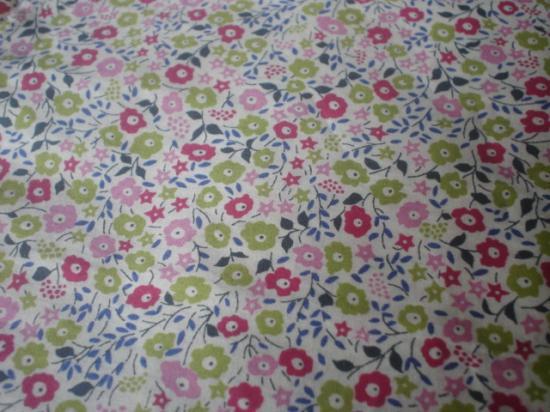 Tissu Fairford Framboise - anis - rose