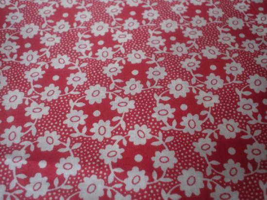 Tissu Millie rouge
