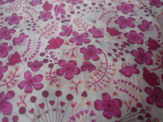Tissu Sarah Secret Garden Fuschia