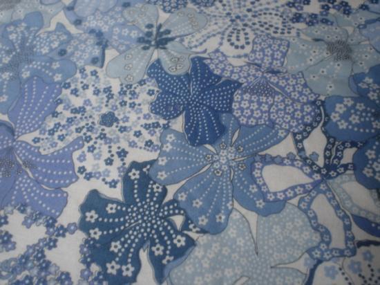 Tissu Mauvey bleu