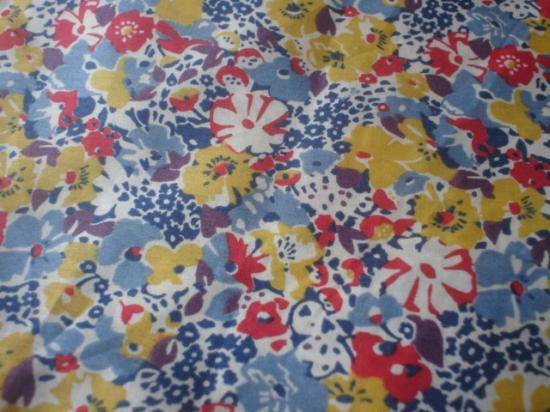 Lucy Locket jaune, bleu et rouge