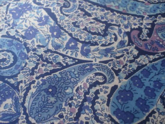 Bourton turquoise et lilas