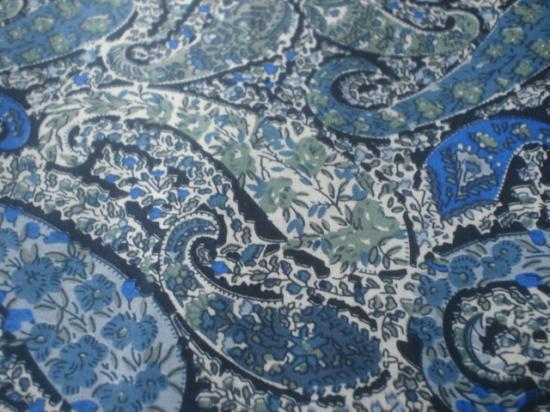 Bourton bleu et vert