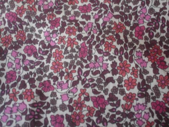 Emilia's flower rose prune marron
