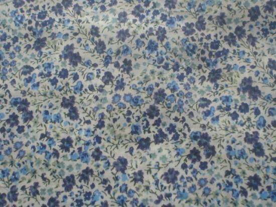 Tissu Phoebe bleu