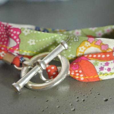 Bracelet ruban Mauvey