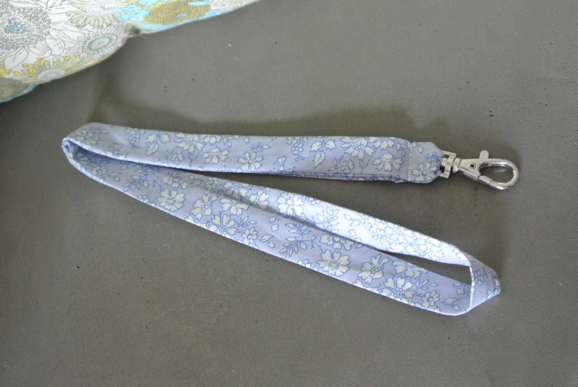 Porte clé Capel bleu clair