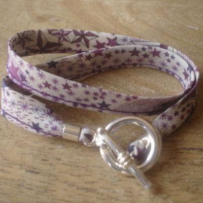 Bracelet ruban Adeladja