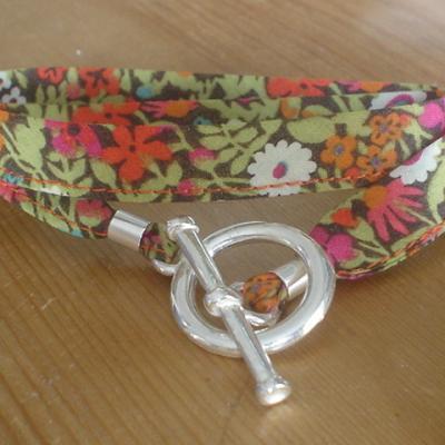 Bracelet ruban en Liberty Fitgerald