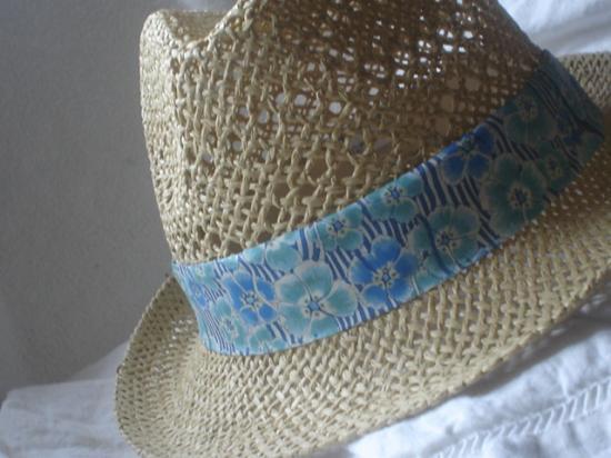 Chapeau Ellie Ruth turquoise