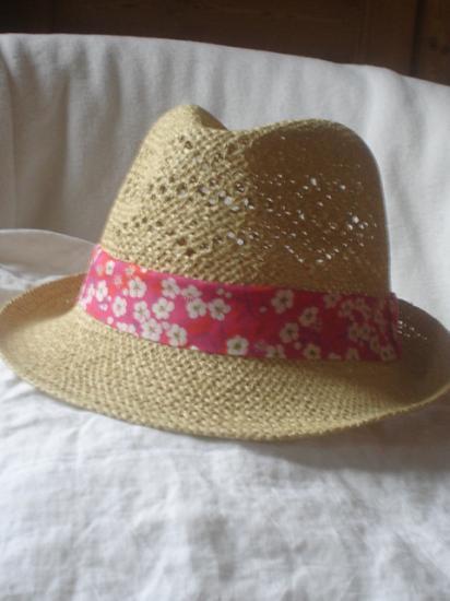 Chapeau Mitsi rose