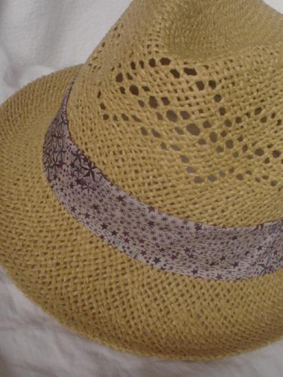 Chapeau Adelajda violet