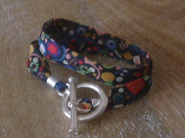 Liberty Pick and Mix multicolore fond marine