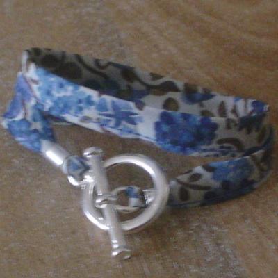 Bracelet ruban en Liberty Kaylie Sunshine
