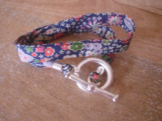 Bracelet Kayako bleu (GF)