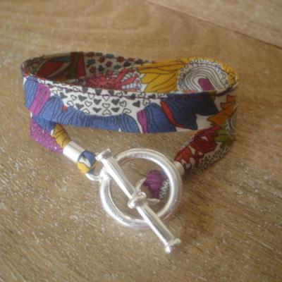 Bracelet ruban en Liberty Small Susanna