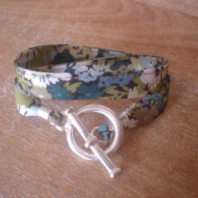 Bracelet ruban en Liberty Thorpe