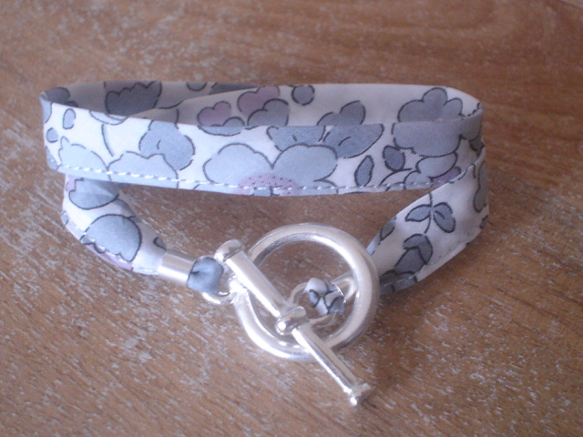 Bracelet Betsy gris (GF)